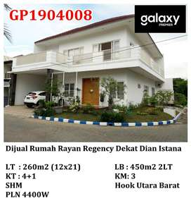 Dijual Rumah Rayan Regency Selangkah Dian Istana, Graha