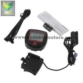 Speedometer Sepeda Lipat Gunung Mtb Outdoor 14 Function LCD Display