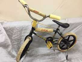 KID BICYCLE BRANDED WITH SUPPORTINGWH( BMX/ORIENT)TUBELESS,TOUGHTYRES