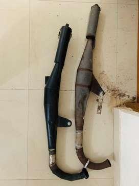 Yamaha Rx 100 chamber silencer for sale