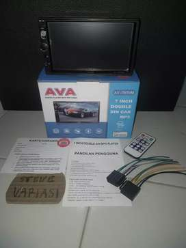 Head Unit Double Din AVA Mirrorlink Android by Steve Variasi Olx