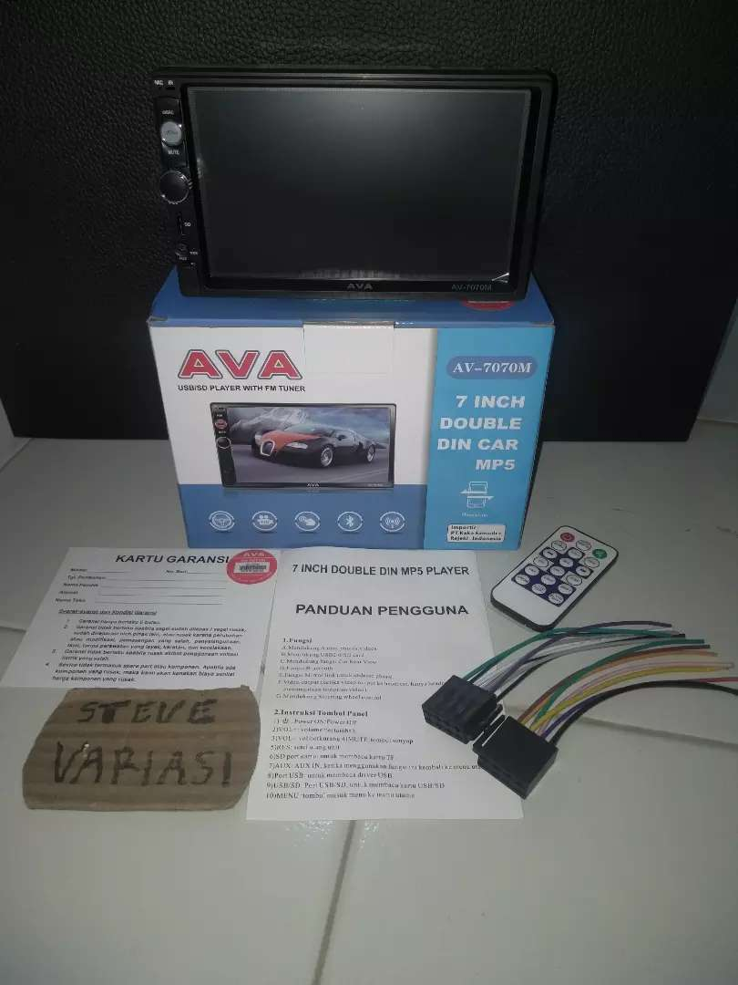Head Unit Double Din AVA Mirrorlink Android by Steve Variasi Olx 0