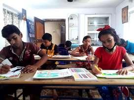 Art class at Dhusuri