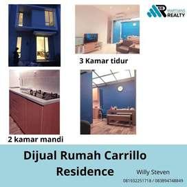 Dijual Rumah Carrillo Residence Full Furnish Rumah Baru Mewah