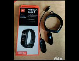 mi band 4 smart watch with five diffrent colours