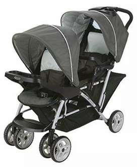 Double twin Stroller