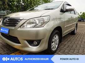 [OLX Autos] Toyota Kijang Innova 2013 G 2.0 L Bensin AT #Power Auto ID