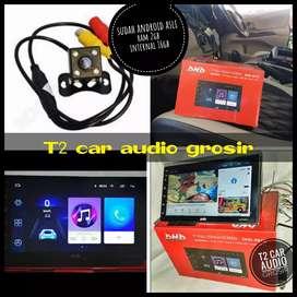 Dvd 2din android asli DHD ram 2gb int 16gb 7inc+camera hd mumer gan