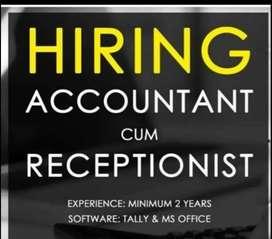 Hiring for Accountant cum Cashier