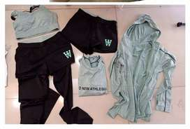 Set baju olahraga 5 pc