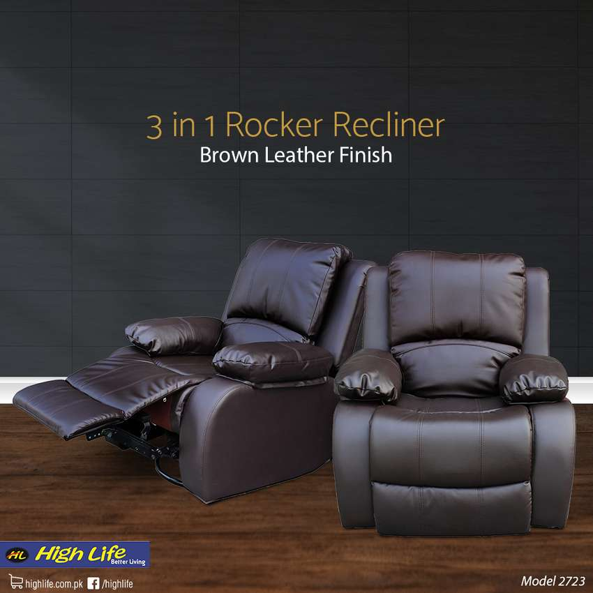 HIGH LIFE ROCKER/RECLINER WITH SWIVEL 0