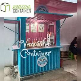 BOOTH CONTAINER CUSTOM / CONTAINER ANGKRINGAN / CONTAINER CAFE BAR