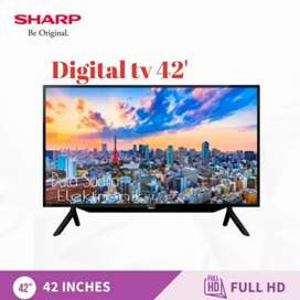 TV SHARP 42 INCH DIGITAL TV GARANSI 5 TAHUN