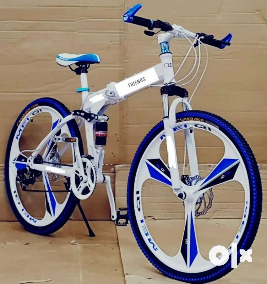 All New Folding cycle With 21 shimano gear