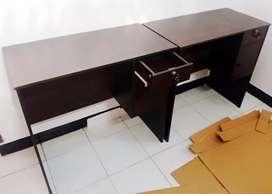 Meja Tulis Fesa Desk Wenge Bahan Particle Board