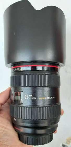 Lensa Canon 24-70 f2.8 L Series muluss,murahh