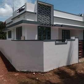 3.5cents 3bhk 4 year well maintained house kongorppilly. Koonamavu 30L