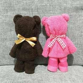 Souvenir Handuk Teddy Bear Imut