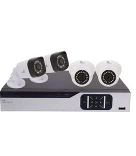 Cctv camera set of 4