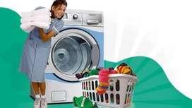 Dicari asisten Laundry (jaga toko)