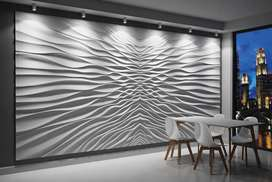 All kinds of interior wall floors window blinds ceiling paint led unit