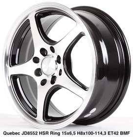 QUEBEC JD8552 HSR R15X65 H8X100-114,3 ET42 BMF