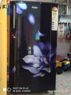 A1 condition fridge haier 165 lt. Warranty card available