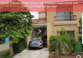 Corner Villa for Sale in Peaceful Bahria Town Lahore