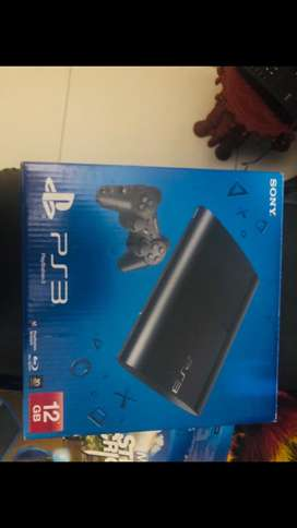 Sony Play Station 12 GB .PS 3 unit, Dual shock Controler