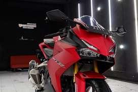 Nano ceramic coating Motor Kawasaki Ninja   Polish Protection surabaya