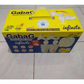 [TERMURAH] Gabag Infinite Double Breastpump Pompa ASI baru