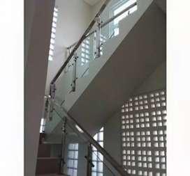 Reling tangga stainless dan balkon #1576