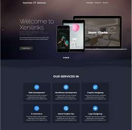 Design and Develope your Website.