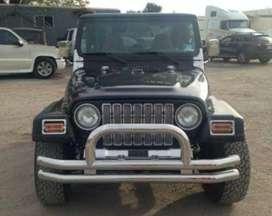 Wranglar black jeep