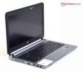 Hp laptop 430 cor i5 4gen silim laptop 4gb ram 320gb hdd win10 64bit