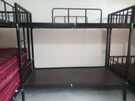 Selling 10 iron bunk beds with mattress.