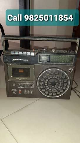 Radio national Panasonic 4 band in not working condition