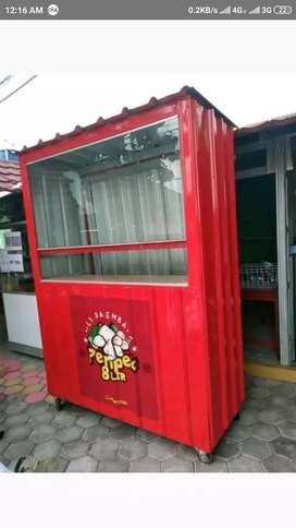 Booth Container cafe Container kedai Coffee Shop container booth