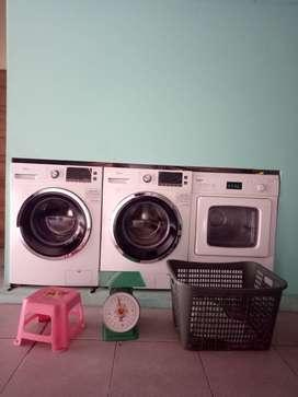 Dijual Mesin cuci dan pengering