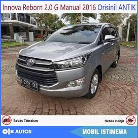 Innova Reborn 2.0 G mt 2016 Antik bs kredit murah