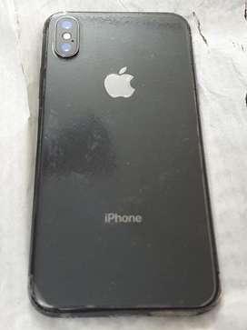 Iphone X 1.5 years old 64 gb black