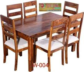 Hard wood four seater dining table