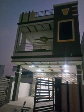 yapral new 3 bhk duplex house for sell near indus school