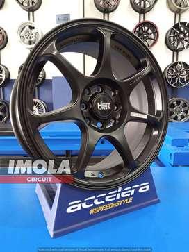 Velg mobil racing murah R16 HSR Sebunsuta Ring 16 Pcd 4x100 & 4x114,3