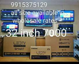 New 32 inch led with 1 year warranty