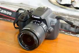 Canon 1500d with 55-250mm and 18-55mm lenses