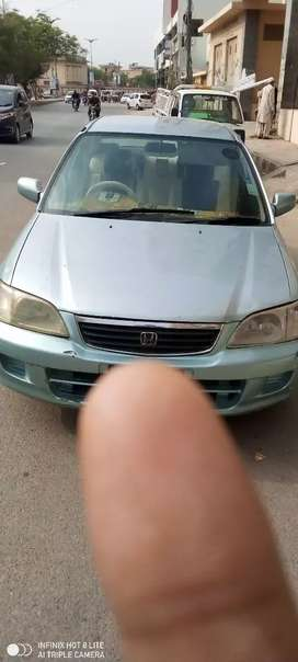 Honda city 2003 in good condition exchange possible with automatic car