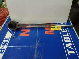 Kunci sock rachet ring double 14 x 17 sellery