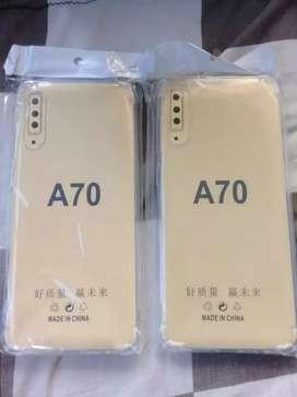 New Samsung A70 Softcase Anti crack Tebal