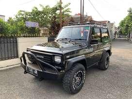 Taft GT 4x4 diesel F70 manual SOLAR daihatsu 1991 antik hobi offroad